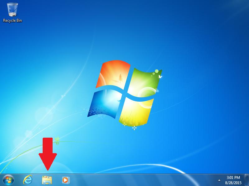Click: Windows Explorer