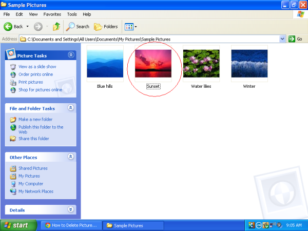 how-to-delete-screen-saver-pictures-in-windows-xp-04