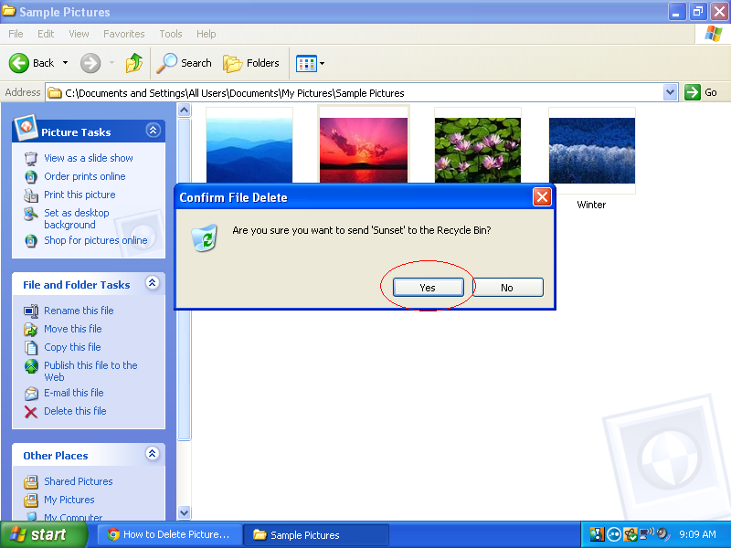 how-to-delete-screen-saver-pictures-in-windows-xp-06