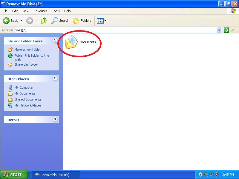 Locate the folder that generates the Access Denied error.