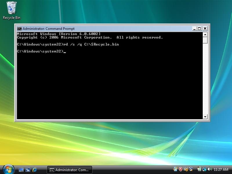 Reboot Windows