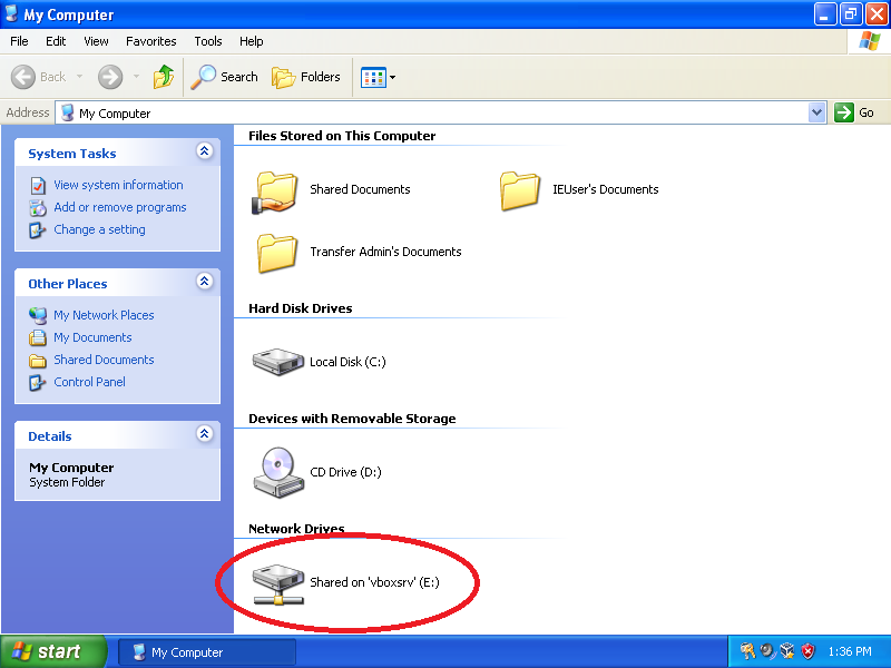 Find the location where you stored Windows Easy Transfer in Part 1